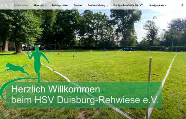 Vorschau von www.hundesport-rehwiese.com, DVG MV Rehwiese