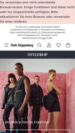 Vorschau der mobilen Webseite www.stylebop.com, Stylebop GmbH