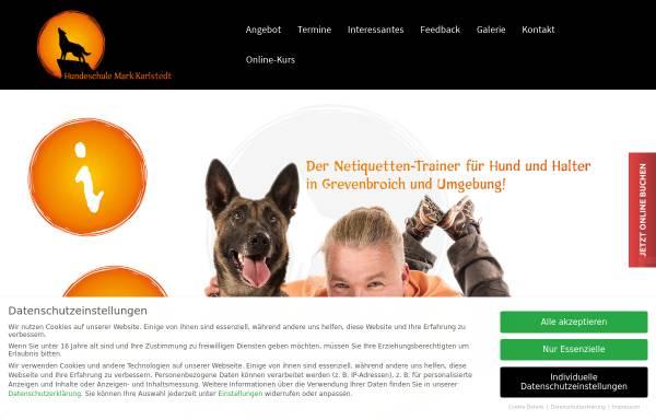 Vorschau von www.hundeschule-karlstedt.de, Hundeschule Mark Karlstedt