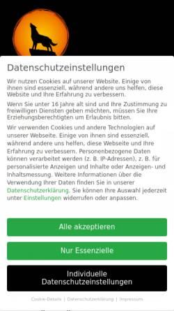 Vorschau der mobilen Webseite www.hundeschule-karlstedt.de, Hundeschule Mark Karlstedt
