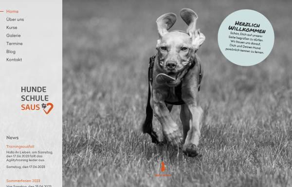 Vorschau von www.hundeschule-saus.de, Hundeschule Saus