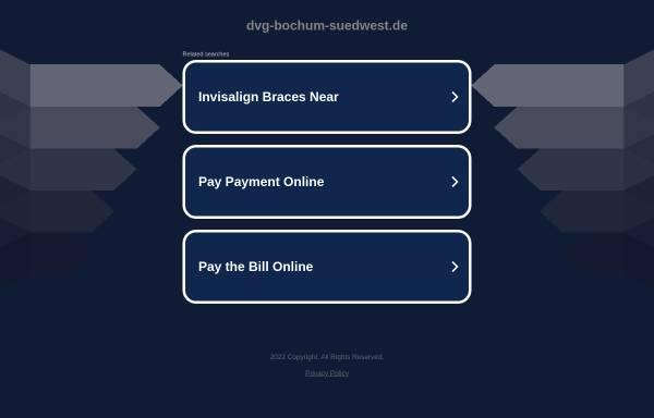 Vorschau von dvg-bochum-suedwest.de, Hundesportverein Bochum-Südwest e.V.