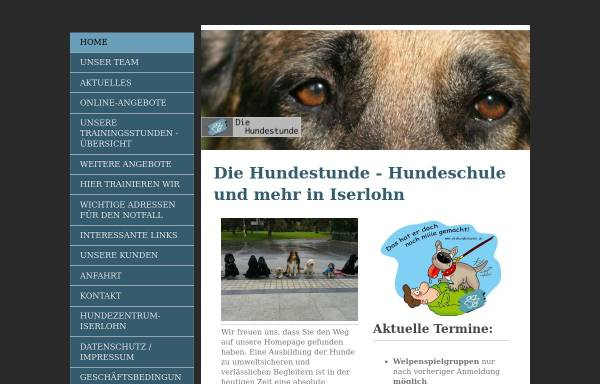 Vorschau von www.diehundestunde.de, Die Hundestunde