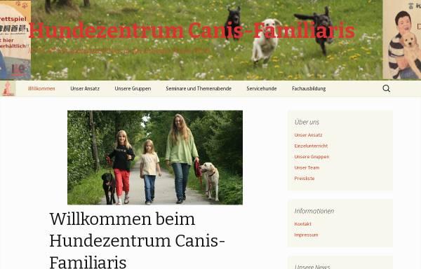 Vorschau von www.canis-familiaris.de, Hundezentrum Canis familiaris