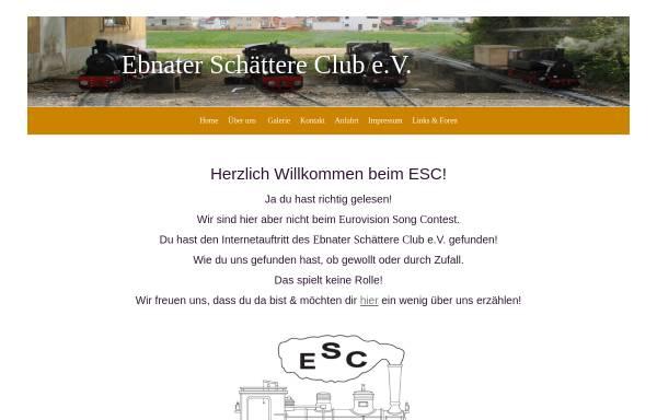 Vorschau von www.esc-dampfbahn.de, Ebnater Schättere Club