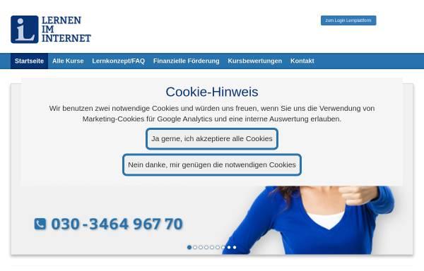Vorschau von www.lerneniminternet.de, Dr. Horst Jaitner