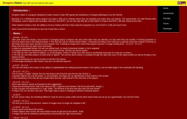 Vorschau von dh.abomb.info, Dungeon Helper
