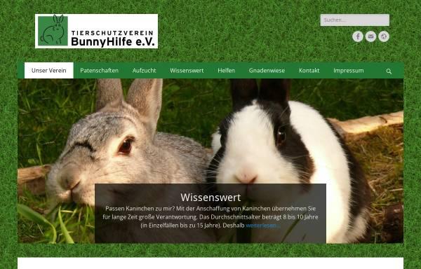 Vorschau von bunnyhilfe.de, BunnyHilfe e. V.