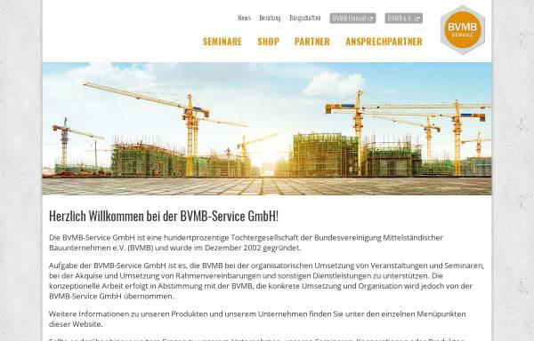 Vorschau von www.bvmb-service.de, BVMB-Service GmbH