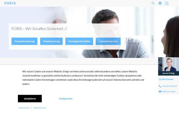 Vorschau von www.foris.com, FORIS AG