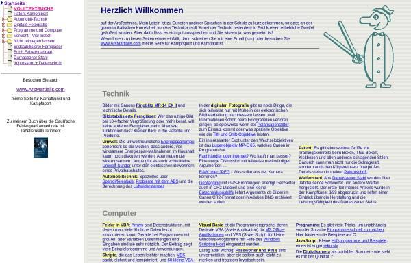 Vorschau von www.arstechnica.de, ArsTechnica.de Technik und Computer