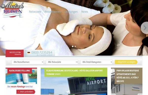 Vorschau von www.mutsch-reisen.de, Mutsch´s Ungarn-Reisen