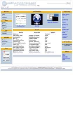 Vorschau der mobilen Webseite www.online-tutorials.net, Online-tutorials.net