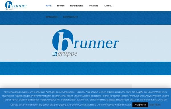Vorschau von www.brunner-gruppe.de, Brunner Mobil Werbung GmbH & Co KG
