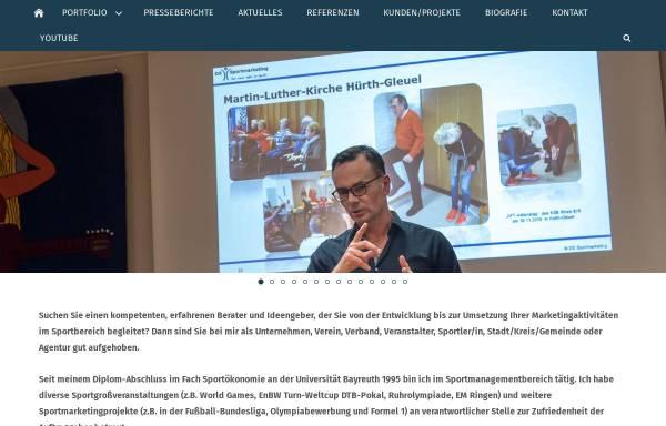 Vorschau von www.dssportmarketing.de, DS Sportmarketing, Dirk Schröter