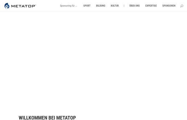 Vorschau von www.metatop.de, Metatop GmbH