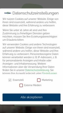 Vorschau der mobilen Webseite www.interlingua.at, Interlingua Language Services (ILS) GmbH