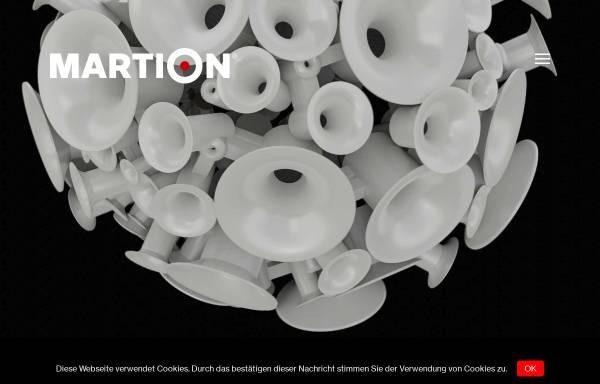 Vorschau von martion.de, Martion Audiosysteme