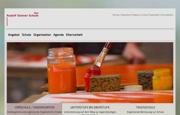 Vorschau von www.steinerschule-biel.ch, Rudolf Steiner Schule Biel