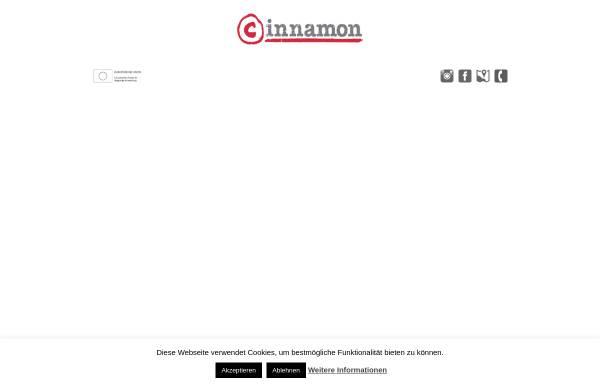 Vorschau von www.cinnamon.de, Cinnamon GmbH