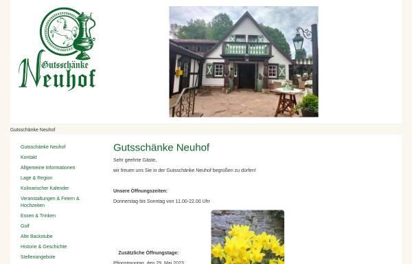 Gutsschänke Neuhof: Gastgewerbe, Dreieich gutsschaenkeneuhof.de