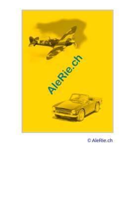 Vorschau der mobilen Webseite www.alerie.ch, AleRie