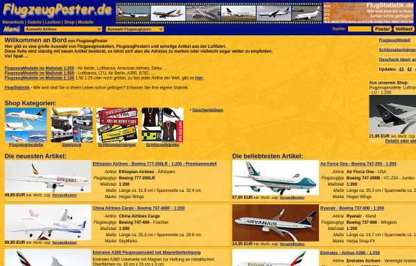 Vorschau von www.flugzeugposter.de, FlugzeugPoster