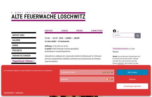 Vorschau von www.feuerwache-loschwitz.de, Alte Feuerwache Loschwitz e. V.