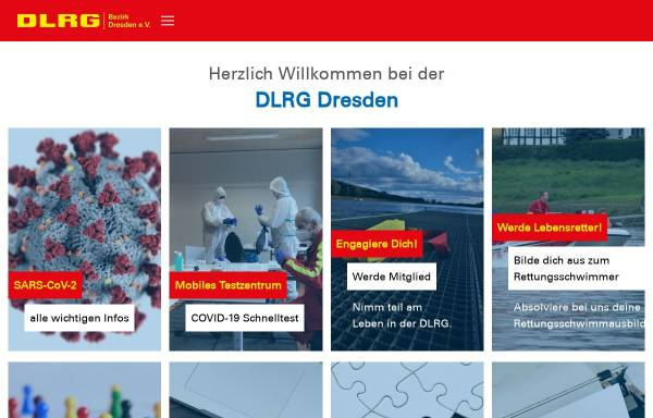 Vorschau von dresden.dlrg.de, DLRG - Bezirk Dresden e.V.