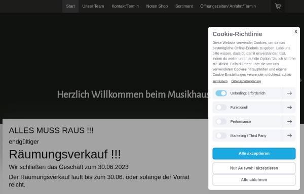 Vorschau von www.musikhaus-andresen.de, Musikhaus Andresen GmbH