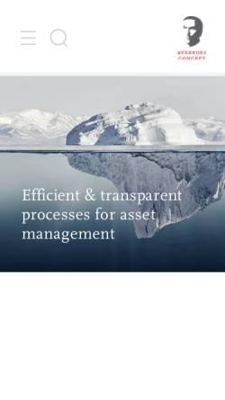 Vorschau der mobilen Webseite www.averroesconcept.de, Averroes Concept Lounge GmbH