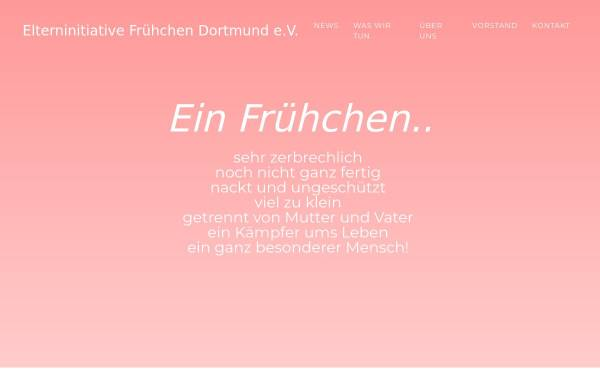 Vorschau von www.fruehchen-dortmund.de, Elterninitiative