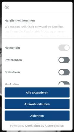 Vorschau der mobilen Webseite www.krupp-krankenhaus.de, Alfried Krupp Krankenhaus Essen