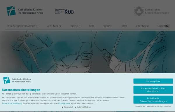 Vorschau von www.bethanien-iserlohn.de, Evangelisches Krankenhaus Bethanien Iserlohn