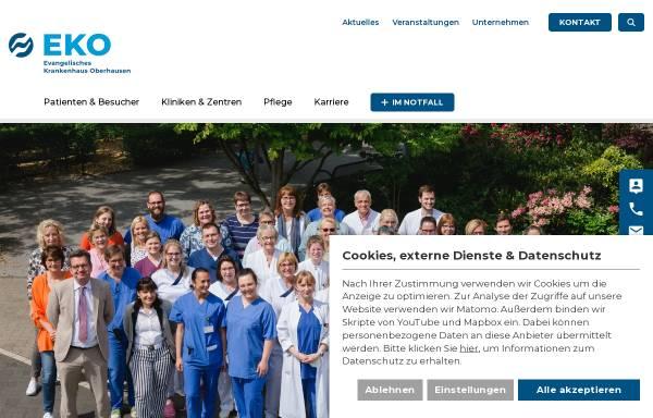 Vorschau von www.eko.de, Evangelisches Krankenhaus Oberhausen