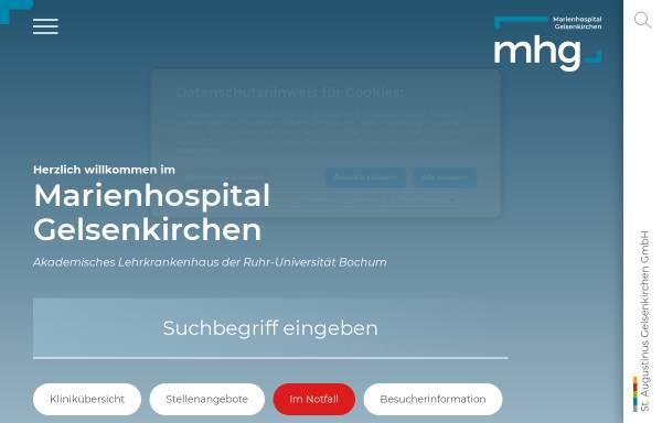 Vorschau von marienhospital.eu, Marienhospital Gelsenkirchen