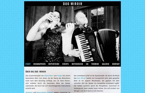 Vorschau von duomiroir.de, Duo Miroir