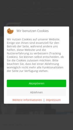 Vorschau der mobilen Webseite www.dietzfackler.de, Dietz & Fackler EDV-Systeme GmbH