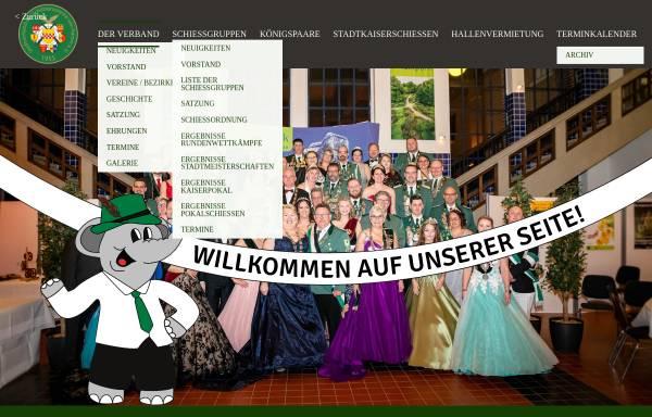 Vorschau von www.hamm-horrido.de, Stadtverband der Schützenvereine von Hamm/Westf.