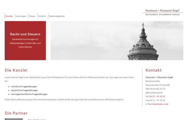 Vorschau von www.nn-e.de, Neumann + Neumann-Engel