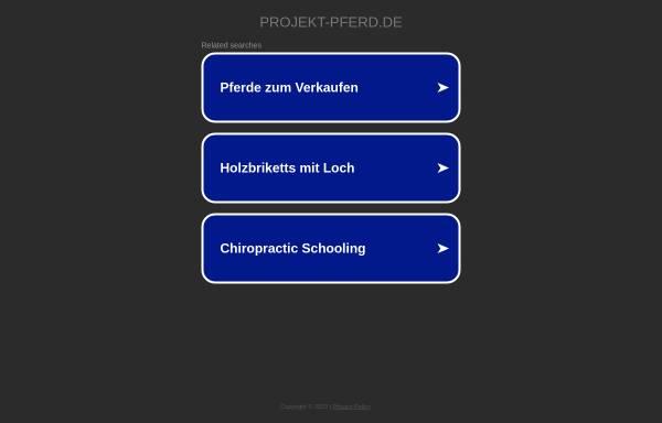 Vorschau von www.projekt-pferd.de, Projekt:pferd
