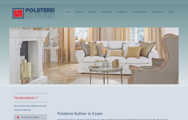 Vorschau von www.polsterei-kufner.de, Polsterei Kufner