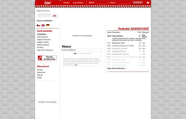 Vorschau von www.crest.cz, Crest