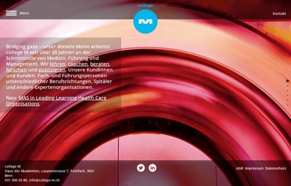 Vorschau von www.college-m.ch, College-M