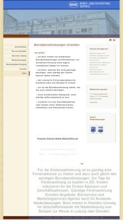 Vorschau der mobilen Webseite www.wtbc.de, Büro- und Marketingservice Steffen Herbst