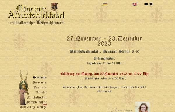 Vorschau von www.mittelaltermarkt-muenchen.de, München Adventsspektakel und Mittelaltermarkt by Diego Ertl