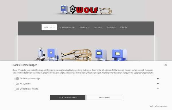 Vorschau von www.holzstative.de, Wolf-Messtechnik GmbH
