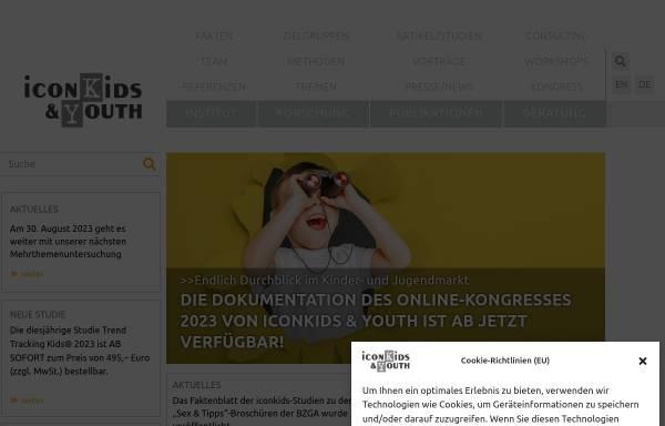 Vorschau von www.iconkids.com, Iconkids & Youth International Research GmbH