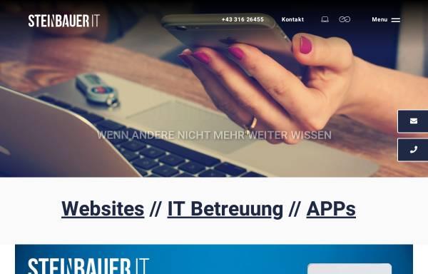 Vorschau von www.steinbauer-it.com, Steinbauer