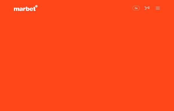 Vorschau von www.marbet.com, marbet creative services